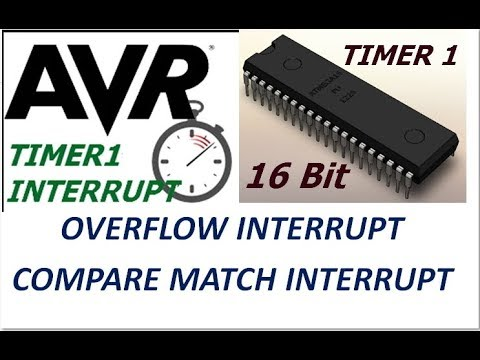 AVR - INTERRUPTS Made Easy Part 3  TIMER 1 (16bit) Interruts