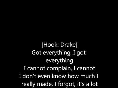 Drake  All Me Lyrics