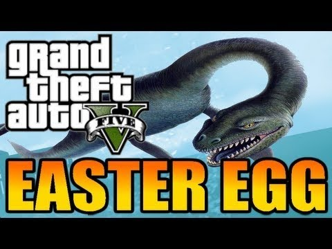 GTA 5: Loch Ness Monster Easter Egg and location