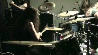 Decrepit Birth - Prelude to the Apocalypse - Sam Paulicelli Drum Cam.MTS