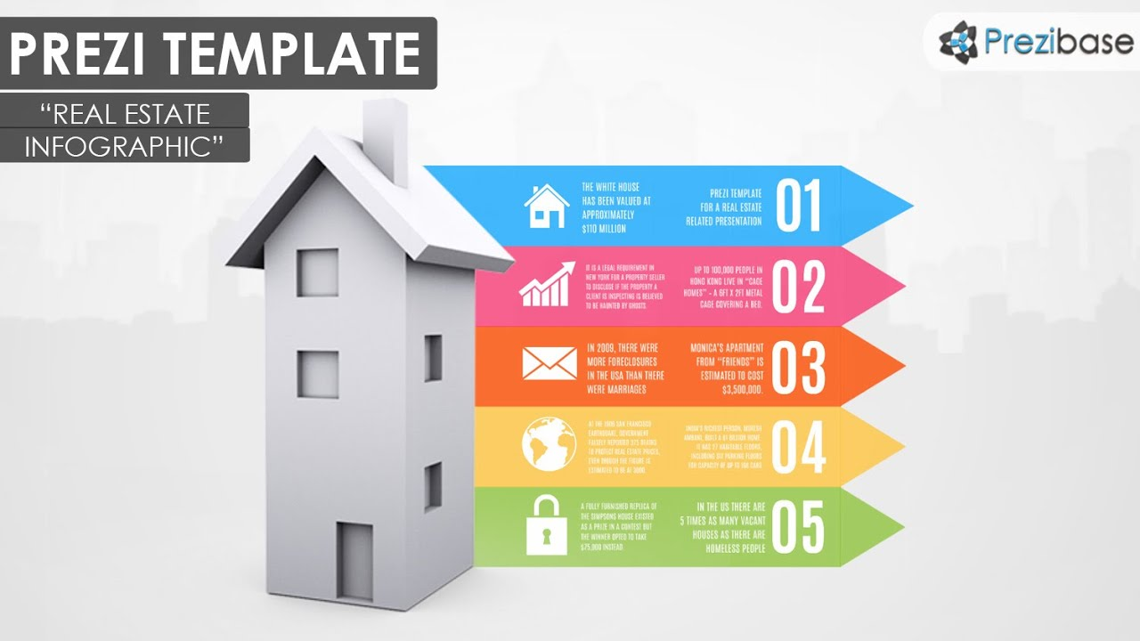 Real estate infographics prezi template youtube pronofoot35fo Gallery