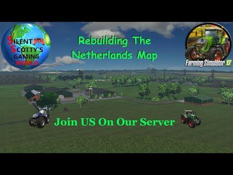 PC! Farming Sim 17 On Our Server   Slacking On My Farm Work...Again?   With Wheel Cam