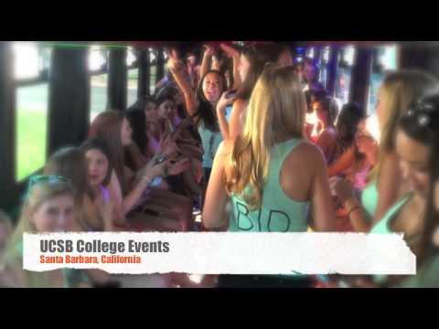 Experience Great Times D&D Limo Bus Santa Barbara, California