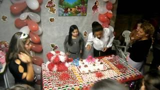 Aniversário Luana Barboza 02/08/2012  Completando 8 Anos!