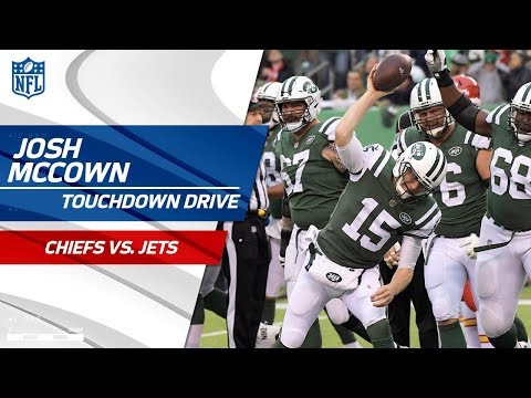 Josh McCown's Massive Plays on TD Drive vs. KC! | Chiefs vs. Jets | NFL Wk 13 Highlights