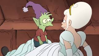 Disenchantment - Bean escapes wedding