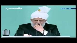 Проповедь Хазрата Мирзы Масрура Ахмада (01-10-10) часть 4