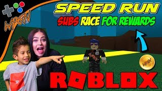 🔥 ROBLOX LIVE 🔥 Subs play and Race for Rewards ⚠️ SHOUT OUT SATURDAY ❗  (2-3-18)