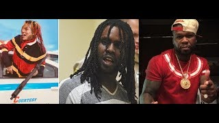 6ix9ine Flips a Line from Chief Keef's song 'Faneto' to diss him in 'Get The Strap' w/ 50 cent