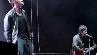 "Oasis RARE Edit of ""BAG IT UP"" Liam and Noel A Capella"