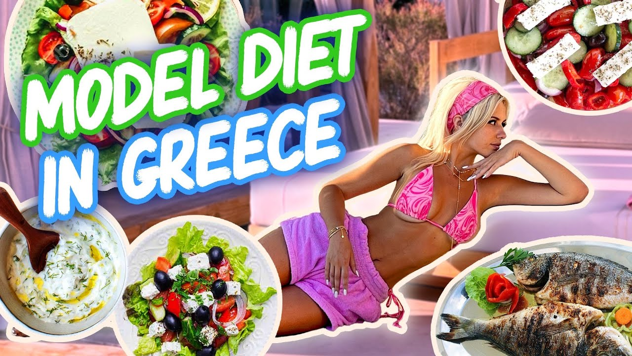 Download what i eat in a day as a SUPERMODEL in GREECE
