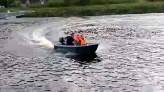 стеклопластиковый катамаран Kajov-3 для отдыха и рыбалки(, 2016-06-05T06:59:17.000Z)