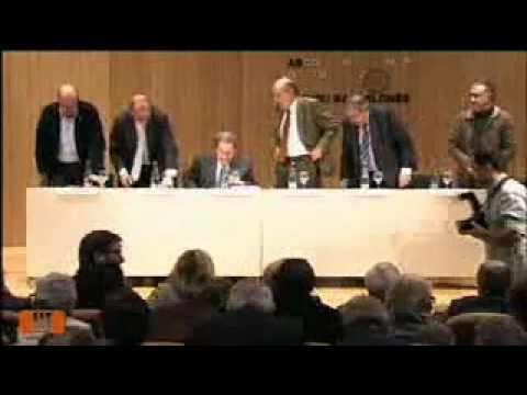 Acte pel pacte fiscal dels quatre presidents a l'Ateneu Barcelonès
