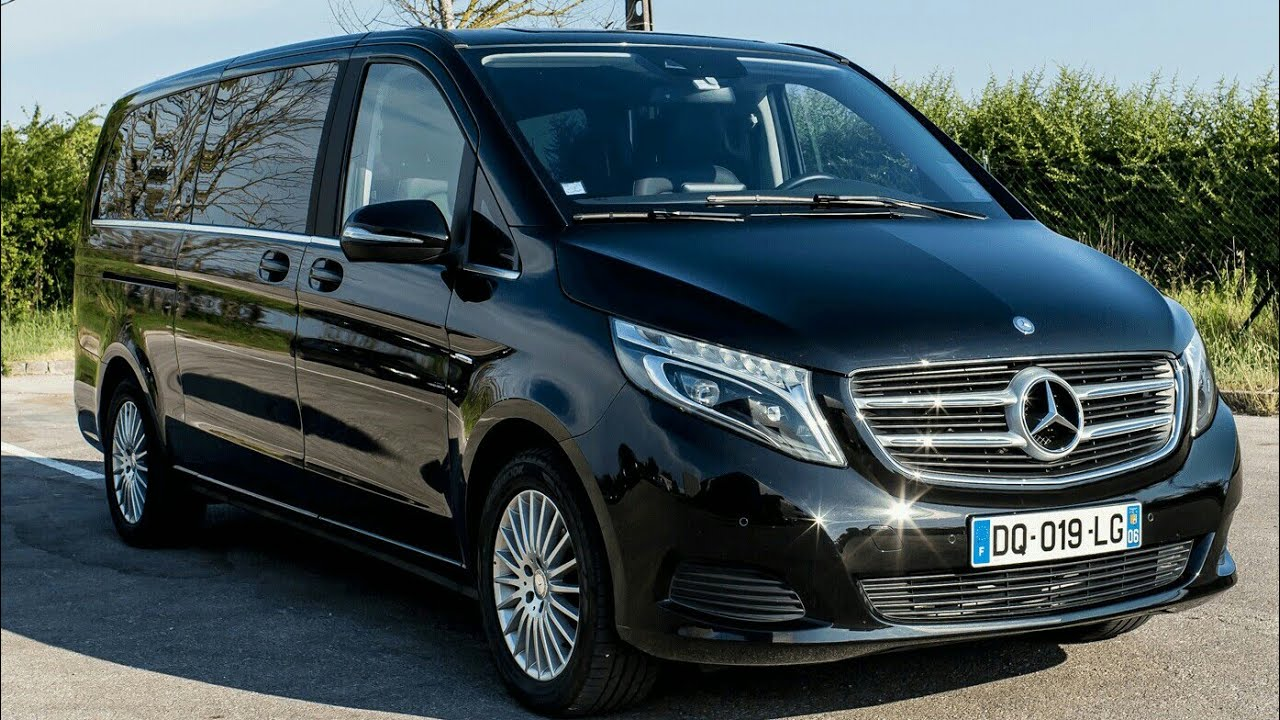 2019 Mercedes Benz V Class Awd Minivan Review Youtube