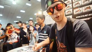 OFFICIAL VIDEO - Rok Bagoros KTM stunt show @ Kuala Lumpur motoxpo 2012