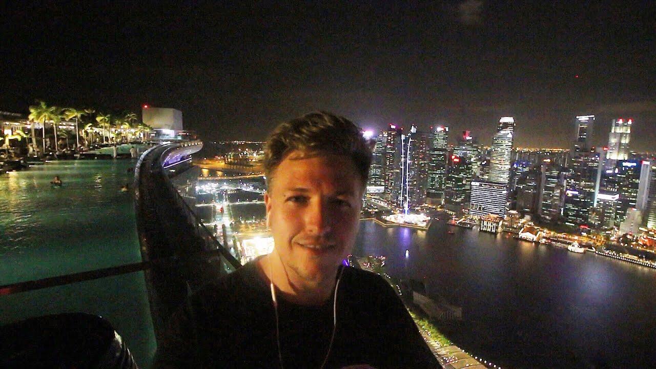 infinity pool singapore night. WORLD\u0027S HIGHEST INFINITY POOL - SINGAPORE Infinity Pool Singapore Night O