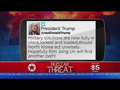 Trump: Military 'Locked And Loaded' As Tensions With North Korea Rise