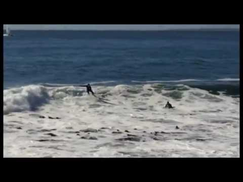Surfers at Mouille Point