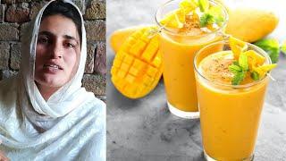 Aj Hum banaye ge Milk Shak Mango Ka   The World Of Sidra