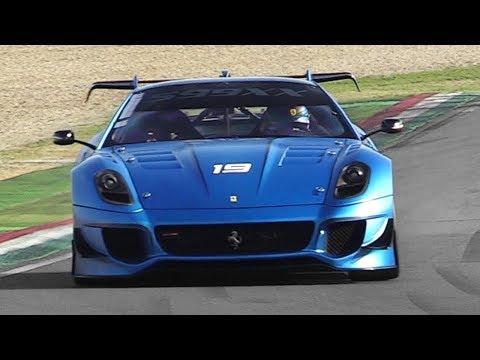 [3D Binaural Audio] Ferrari XX Programmes at Imola - FXX K, 599XX Evoluzione, 599XX