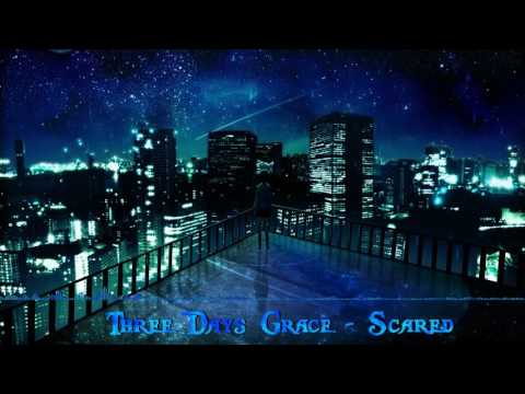 Nightcore  Scared Three days grace