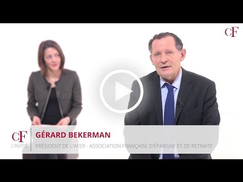 L'Invité - Gérard Bekerman - AFER : L'avenir de l'assurance-vie n'est pas compromis