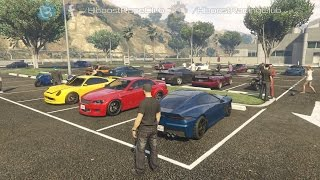 Grand Theft Auto V Online (XB1) | Street Car/Bike Meet | New Rides, Cruise, Rolls, Drags & More