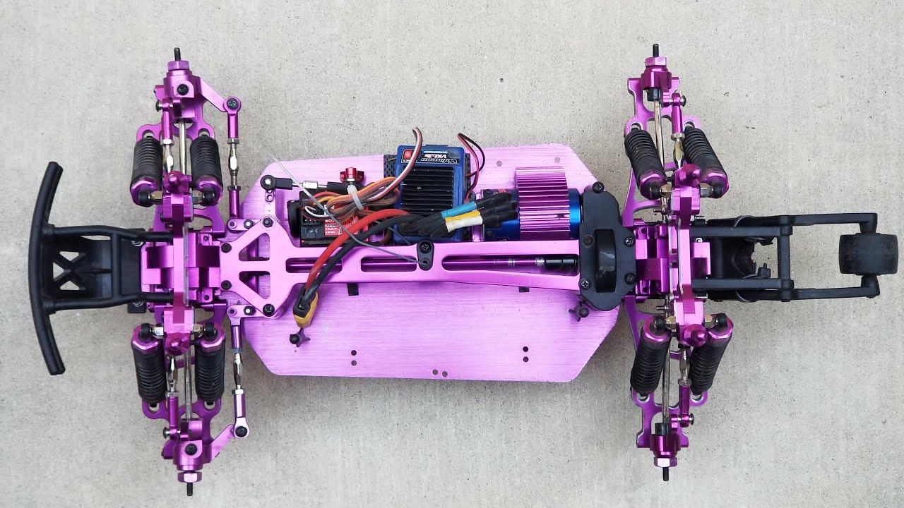 Mount Fit Redcat 1//10 Lightning STK On-Road car RC 02134 Purple Alum Wheel Hex