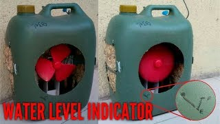 How to make an air cooler at home (with water level indicator)