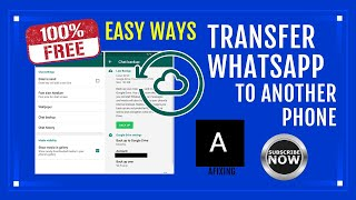 Transfer WhatsApp from one Phone to Another 100% Free [2021] Easy Ways