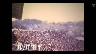 Led Zeppelin - RARE Live Footage, Kezar Stadium, San Francisco, 1973