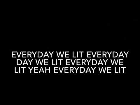 YFN Lucci ft. PnB Rock - Everyday We Lit (Clean Lyrics)