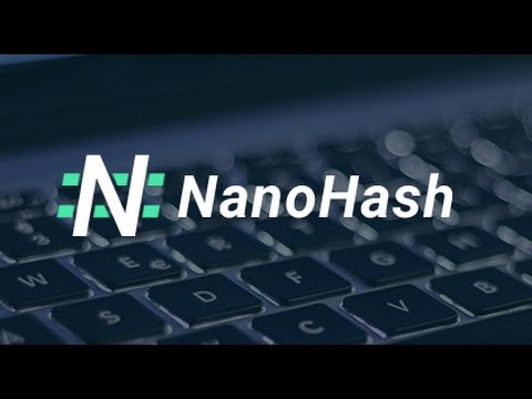 Bitcoin Cloud Mining With Nanohash FREE 15 KHS 2017