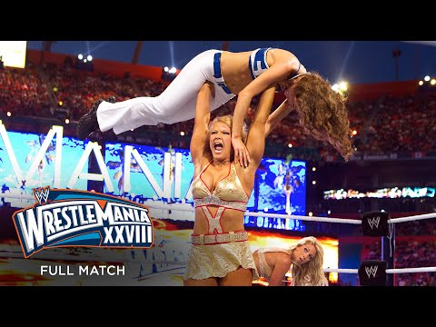 FULL MATCH - Kelly Kelly & Maria Menounos vs. Beth Phoenix & Eve Torres: WrestleMania XXVIII