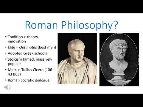 Roman Religious Traditions