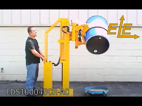 EasyLift™ Drum Dumper With Stationary Base Frame - EDS100048CR AC