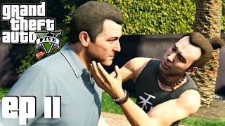 Grand Theft Auto 5 Parte 11 - Ioga, Aliens e Treta (PC Gameplay em Português) - Sem Comentários