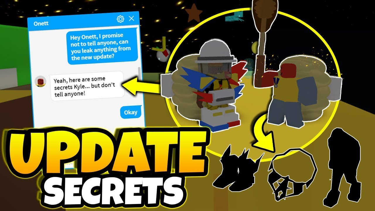 I Messaged Onett Then He Leaked The New Update Roblox Bee