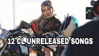 12 CL UNRELEASED SONGS FROM US ALBUM 2018 (CL 2NE1)