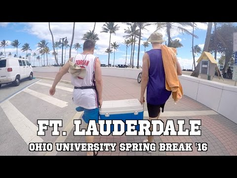 Ft. Lauderdale | Ohio University | Spring Break 2016