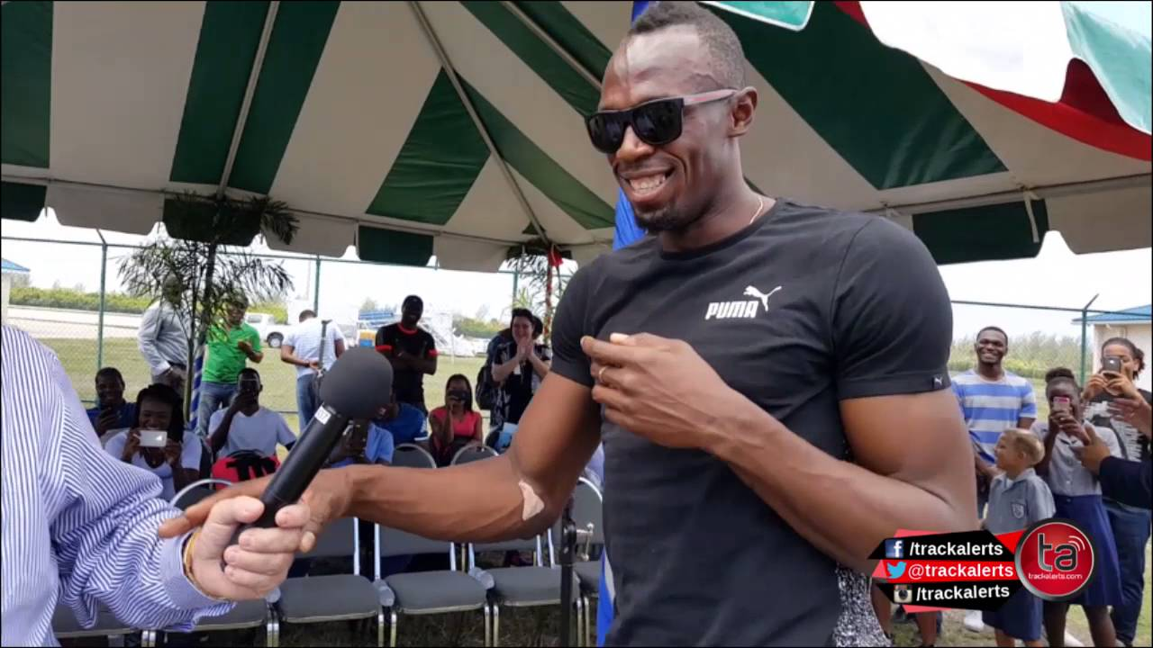 Five Year Old Boy Asks Usain Bolt What Is 1 Plus 2 Video Youtube