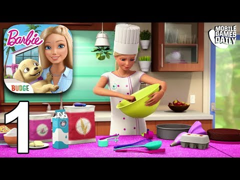 BARBIE DREAMHOUSE ADVENTURES - Gameplay Part 1 (iOS Android)