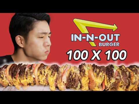 Thumbnail: The In-N-Out 100x100 Burger Challenge