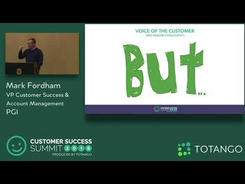 Leveraging Front-Line Customer Feedback - Customer Success Summit 2018 (Track 1)