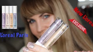 NEW ! L'oreal products - L'oreal galaxy Lumiere lipgloss and others....