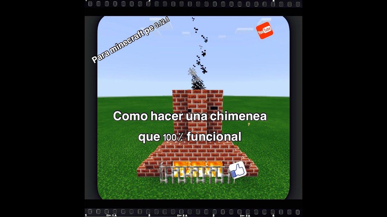 Como hacer una chimenea que funciona en minecraft pe - Como construir una chimenea ...