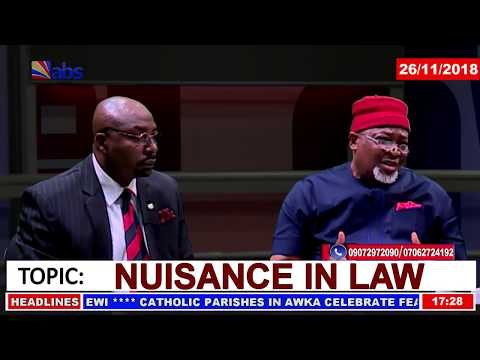 Citizens and The Law - Nuisance In Law
