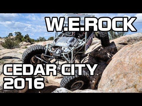 WERock Cedar City 2016 Rockcrawling Highlight