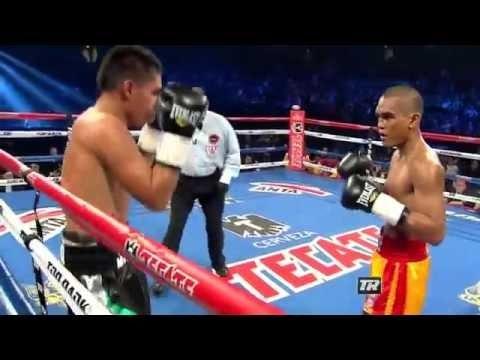 [ Boxing fight 2016 ]Aston Palicte TKO7 Ismael Garnica