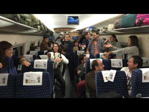 Tren Beijing-Xian (China)  ¡Como entretenerte a bordo!  21.10.2016  by manumolina